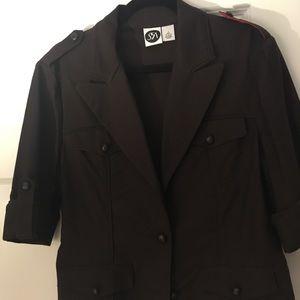 Beautiful quality brown blazer! SFA brand